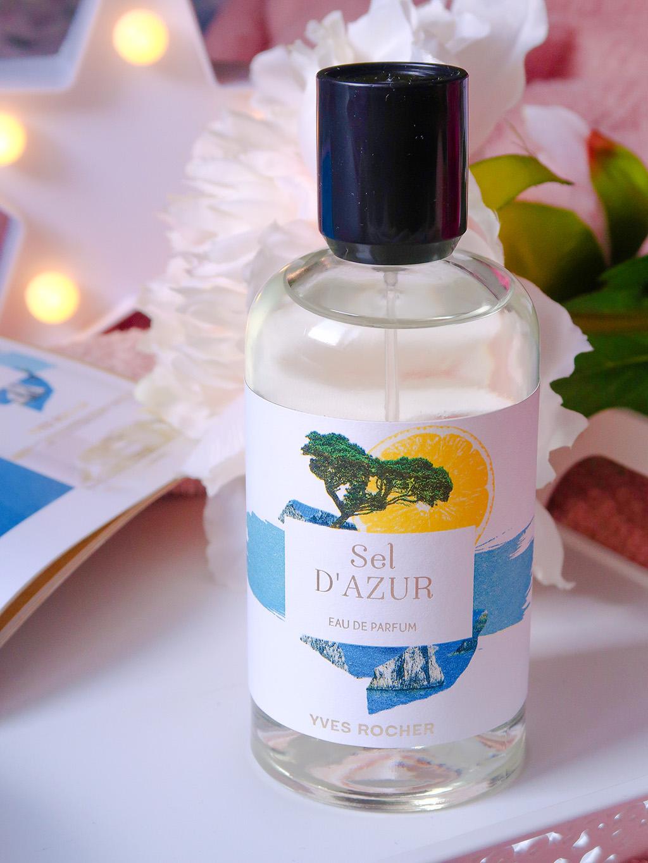 yves rocher la collection parfums sel d'azur garden party matin blanc