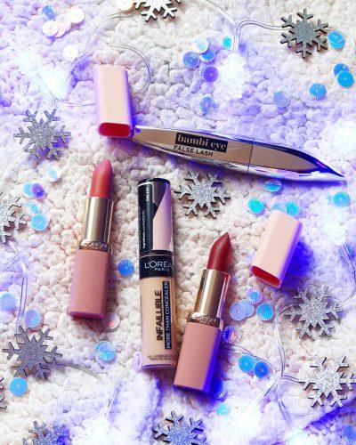 buzzstore loreal paris makeup french look ruj mascara bambi eye concealer infaillible