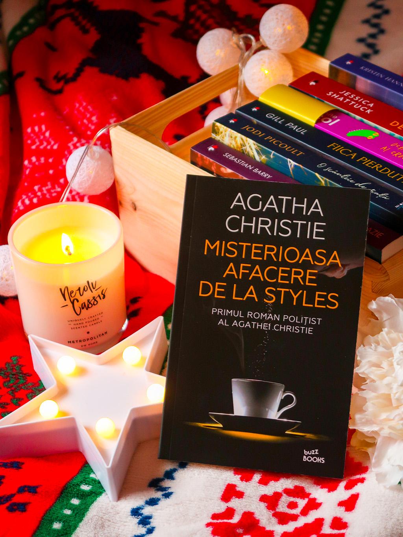 editura litera carti lecturi agatha christie misterioasa afacere de la styles