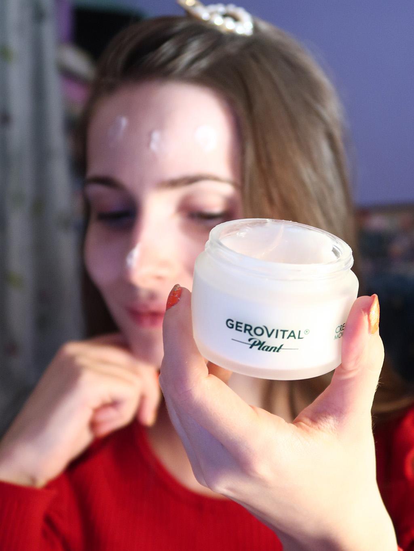 gama gerovital plant rutina simpla skin care ingrijire ten