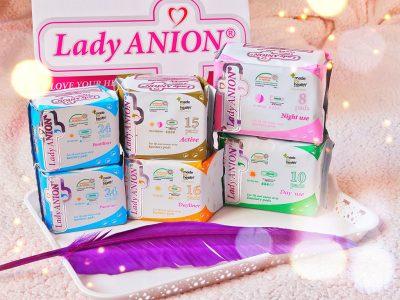 lady anion period kit absorbante bumbac steril banda turmalina bio eco