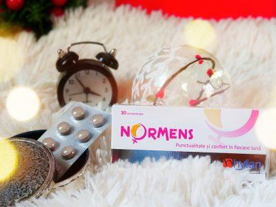 normens supliment natural reglare ciclu menstrual punctualitate confort in fiecare luna