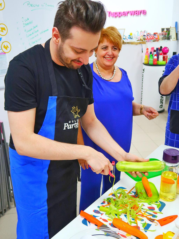 tupperware constanta eveniment petrecere demonstratie culinara