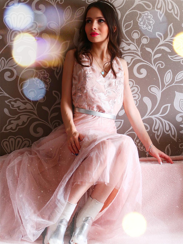 ever pretty dress dresses bridesmaid pink rochie domnisoara onoare roz