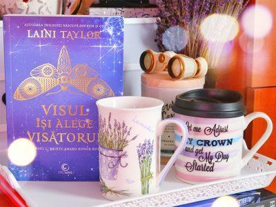 libris idei cadouri pentru un cititor cana lavanda capac carte visul isi alege visatorul laini taylor