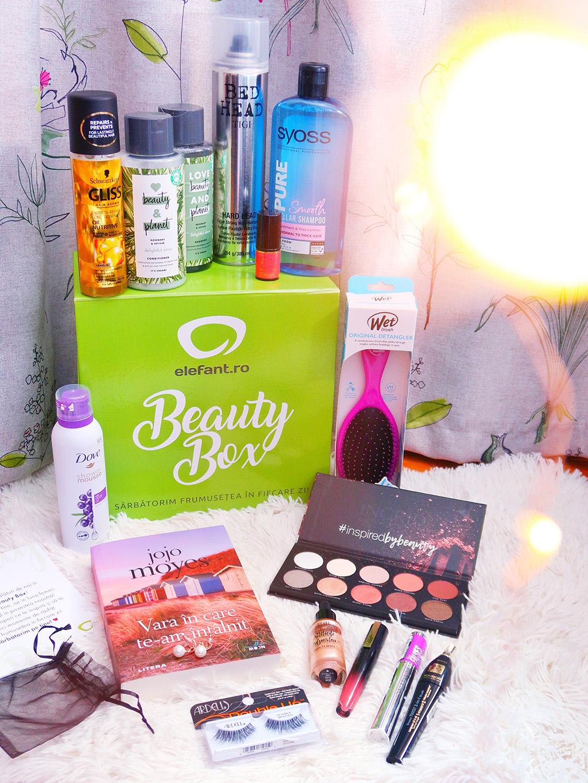 elefant beauty box cutie produse cosmetice frumusete surprize cadou
