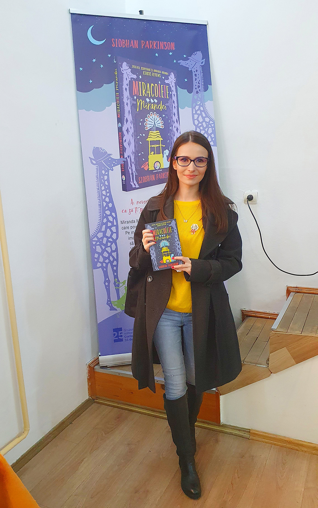 lansare carte miracolele mirandei siobhan parkinson constanta romania