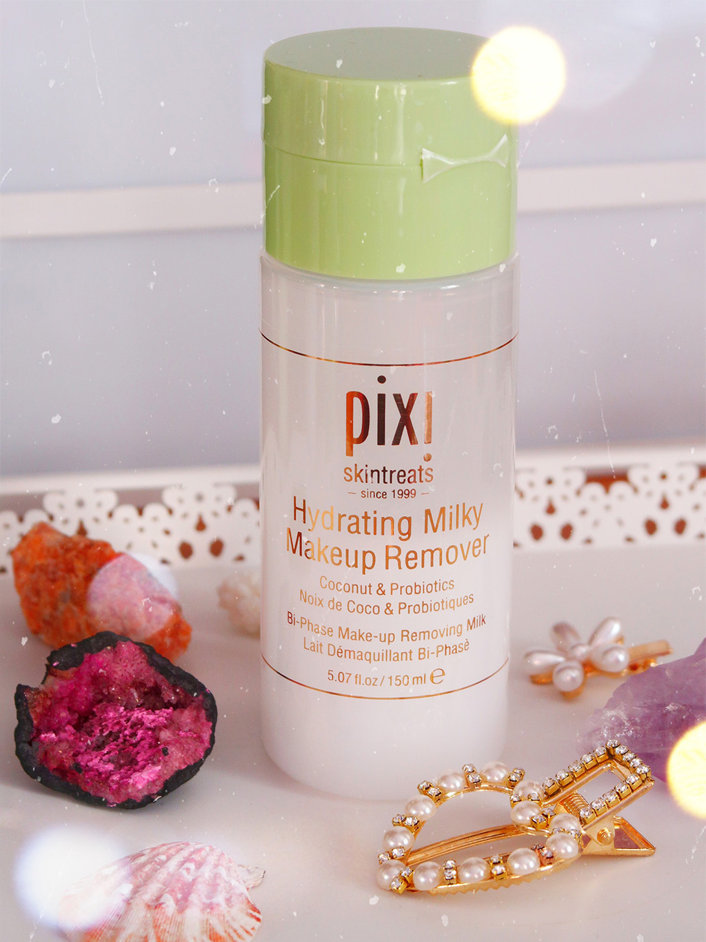 pixi beauty petra milky collection makeup remover