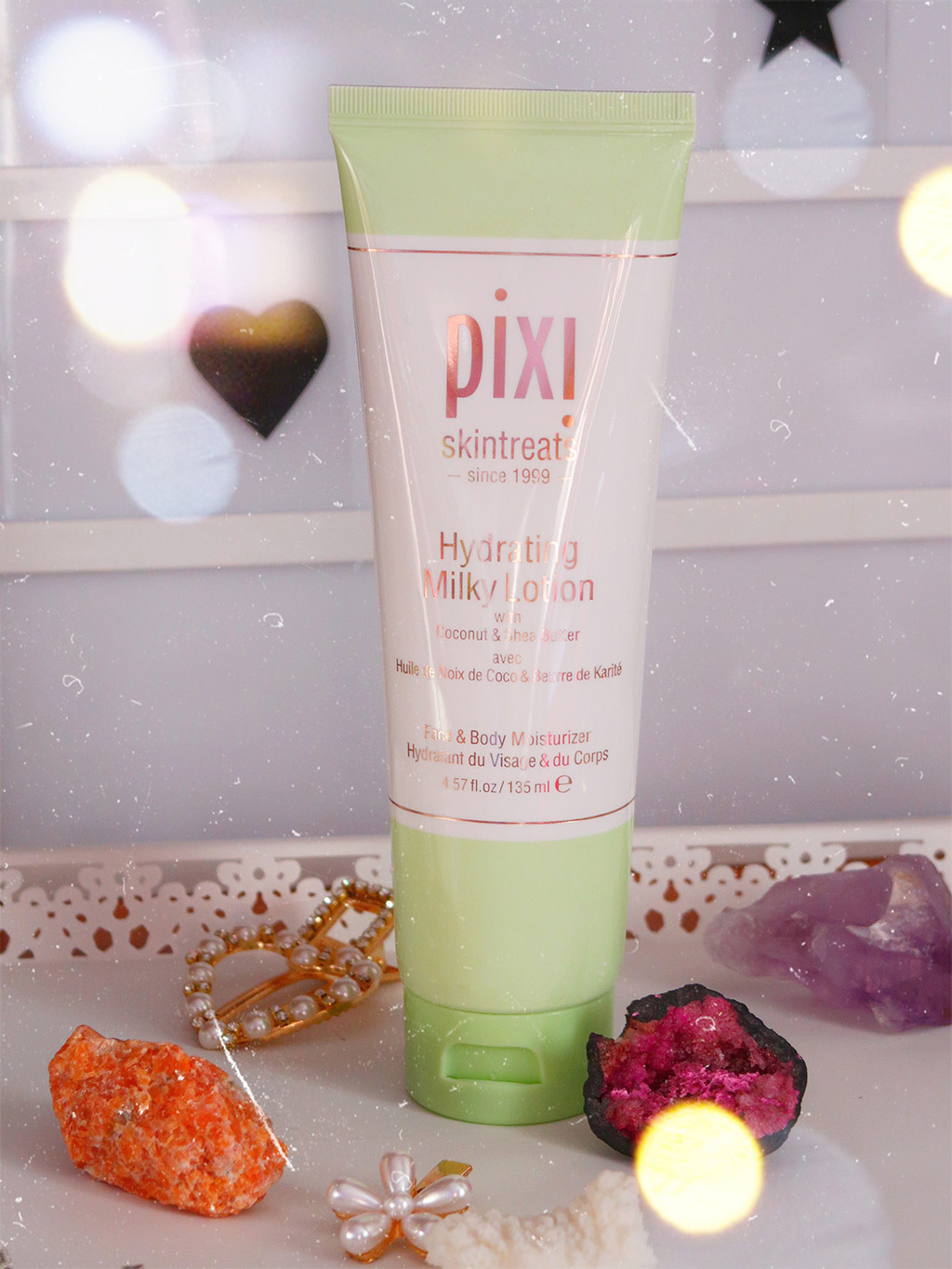 pixi beauty petra milky collection lotion