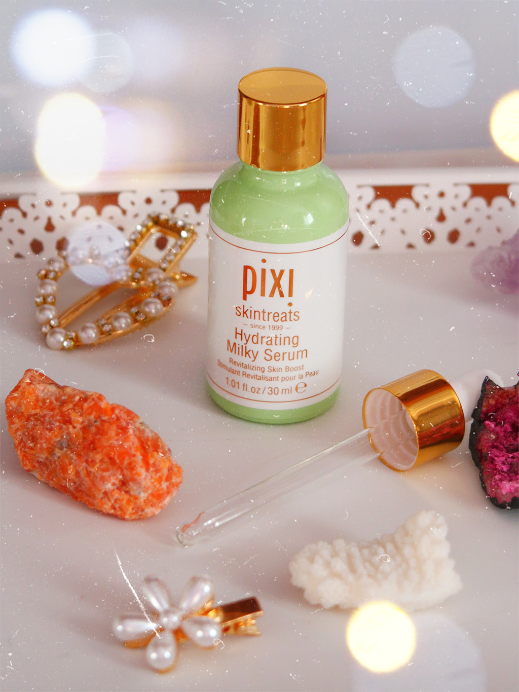 pixi beauty petra milky collection serum