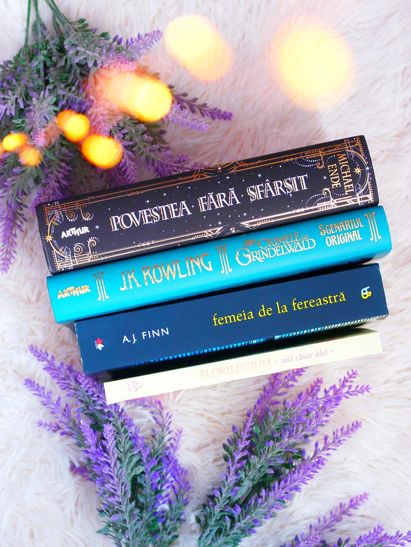 cartepedia carti stau acasa si citesc povestea fara sfarsit femeia de la fereastra crimele lui crindelwald florilegium agenda