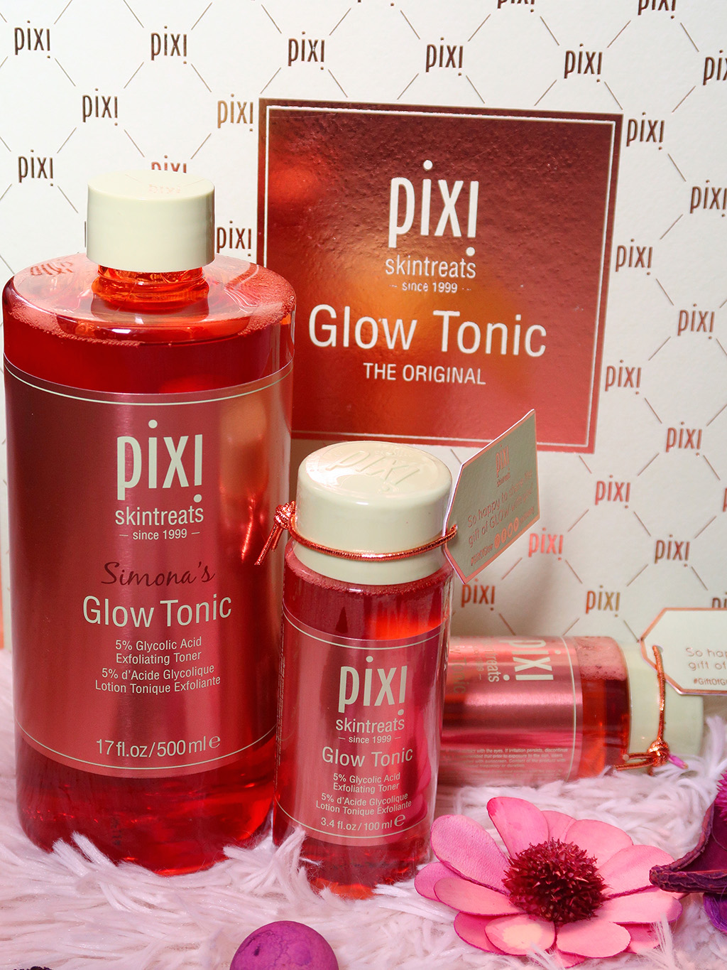 pixi beauty by petra glow tonic pr box