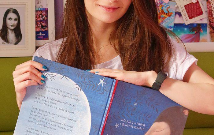 cartemma carte ilustrata copii povestea unei micute caprioare cititor lectura