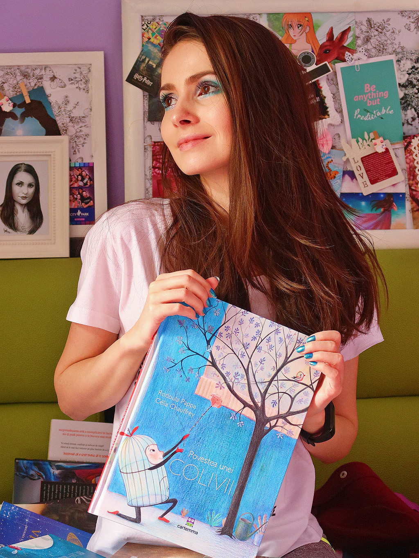 cartemma carte ilustrata copii povestea unei colivii lectura cititor