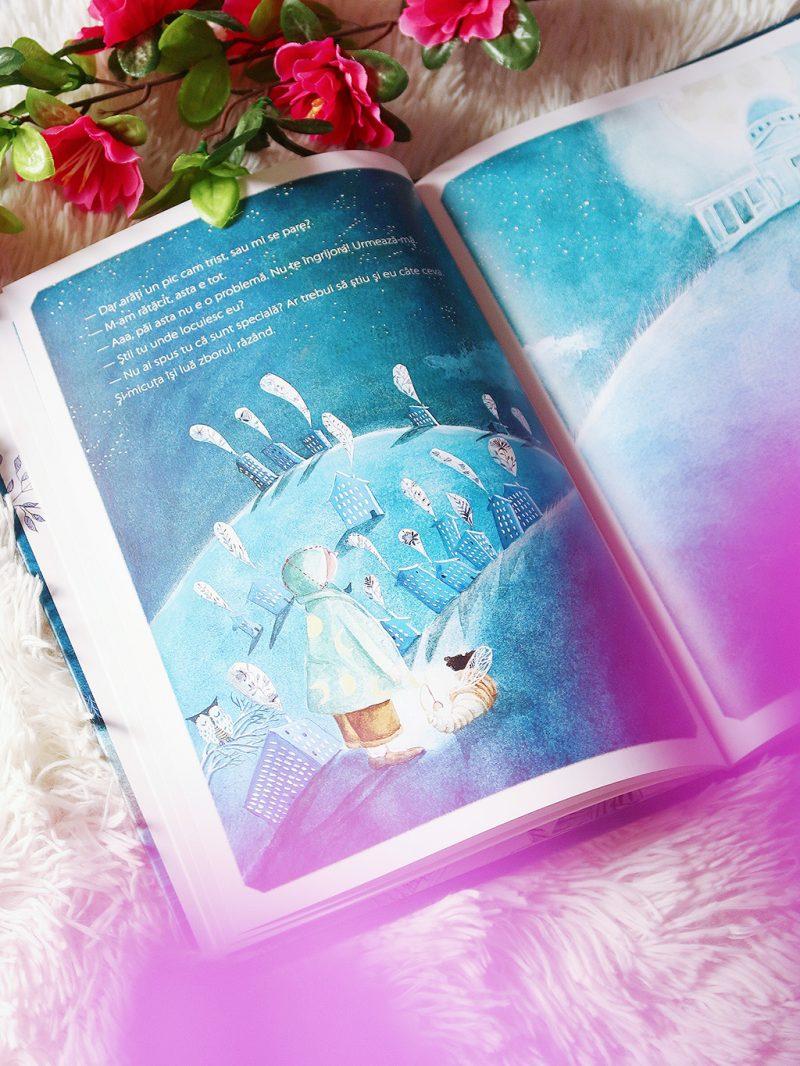 cartemma carte ilustrata copii povestea baietelului care traia pe luna lectura cititor