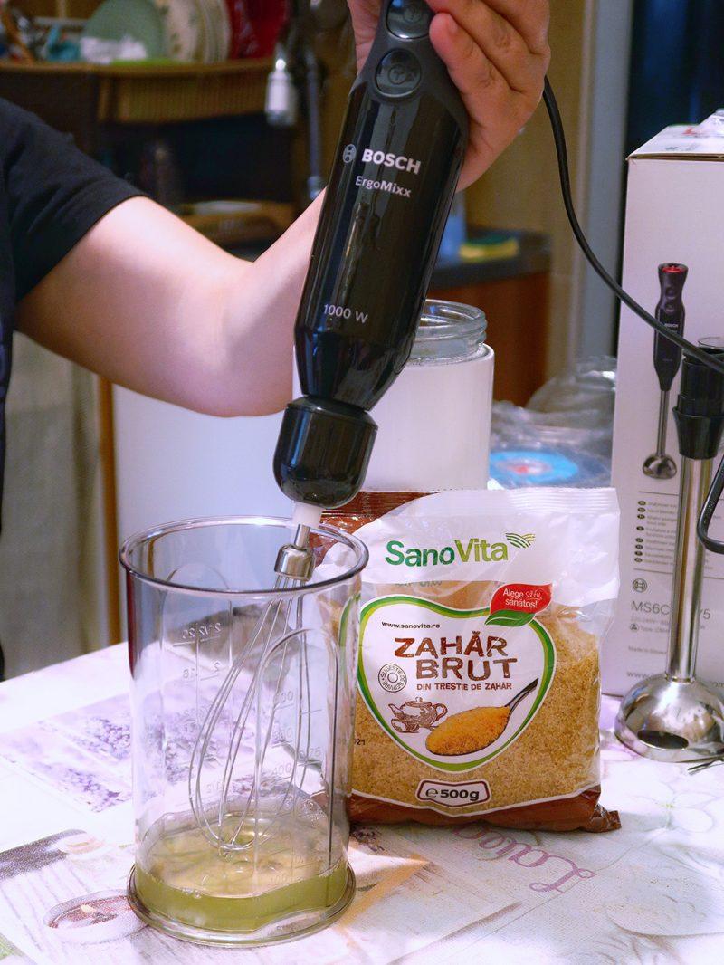 briose cu cocos capsune migdale bezea sanovita blender bosch ergomixx fresh vacuum