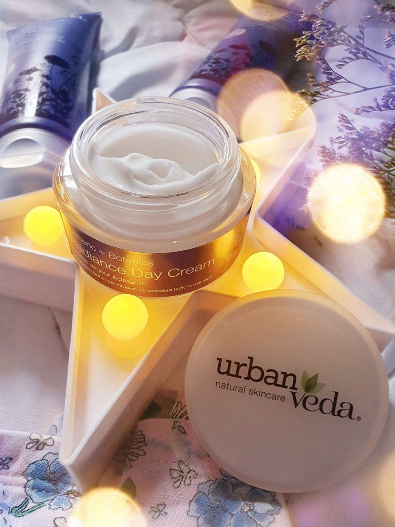 biocart urban veda radiance turmenic botanics crema fata zi toner lotiune tonica peeling facial gel curatare