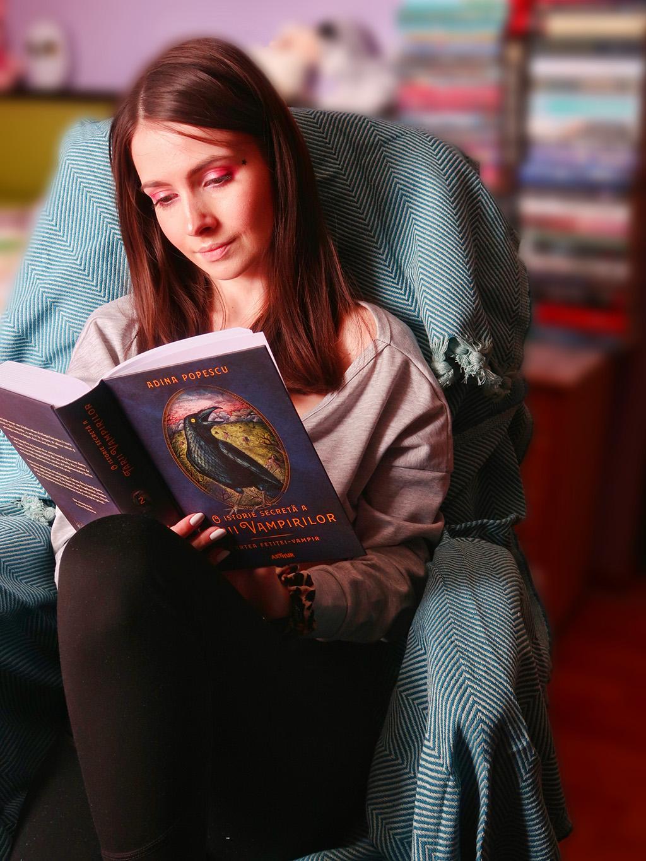 doua carti relaxante pentru zilele de vara o istorie secreta a tarii vampirilor adina popescu poezii dor de dor de tine constantin romulus preda