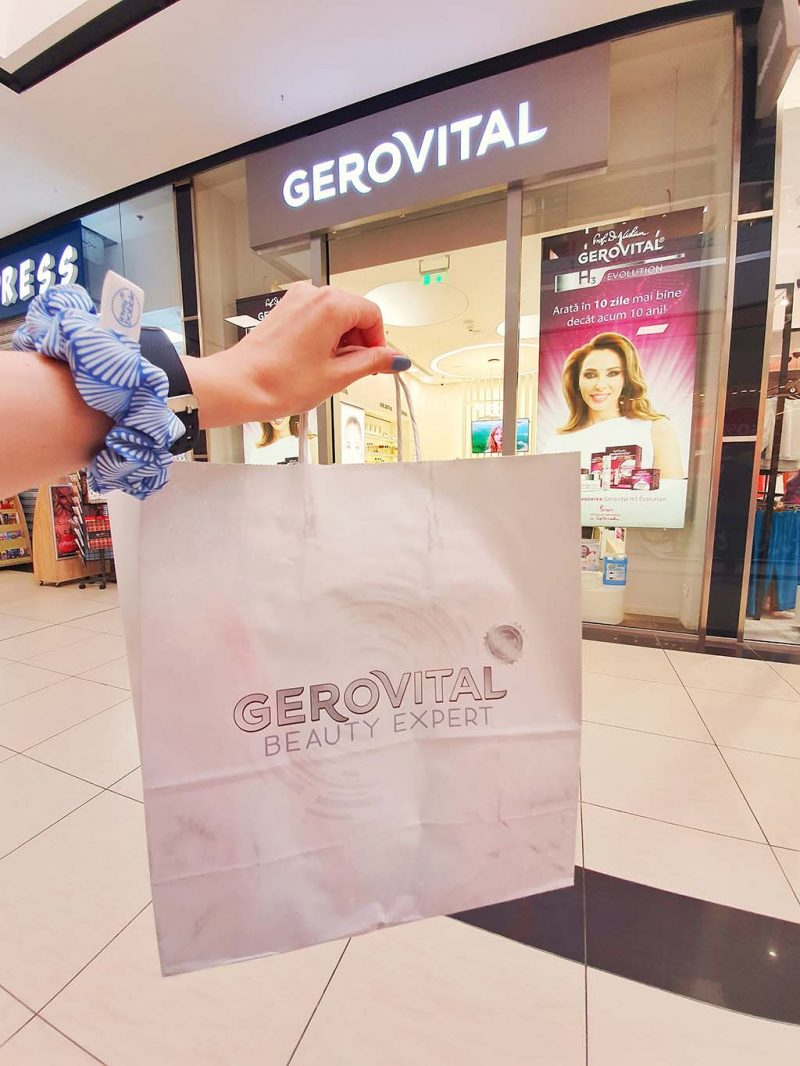 buzzstore gerovital derma plus produse vara protectie solara magazin constanta city park mall