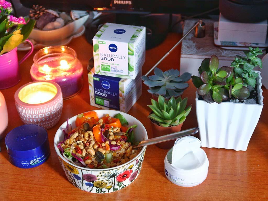 dm mic dejun salata vegetariana nivea naturally good creme