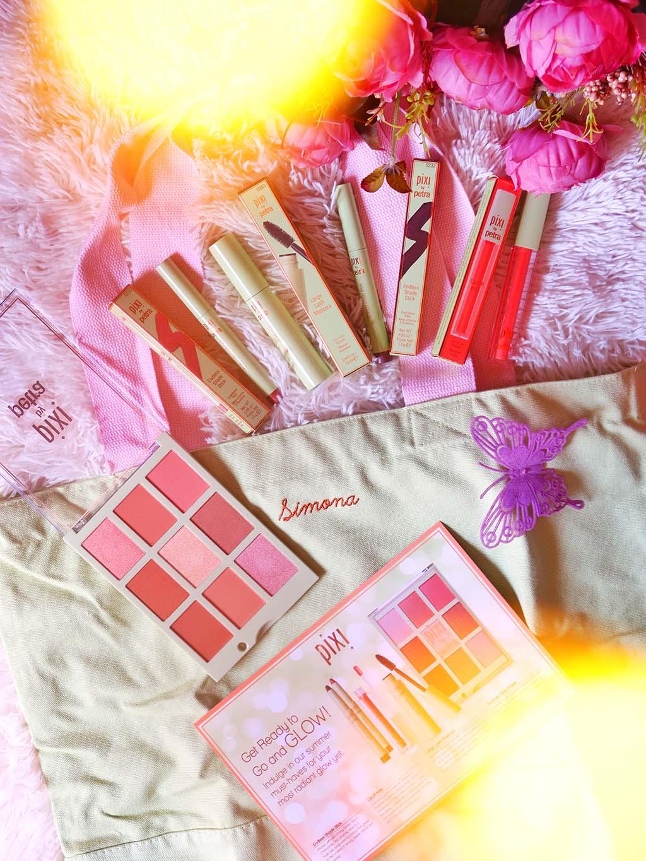 pixi beauty makeup on the go essentials palette summer mascara