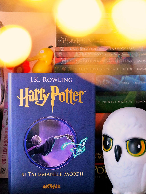 ultima comanda de carti de pe libris osho curajul de a fi tu harry potter rowling