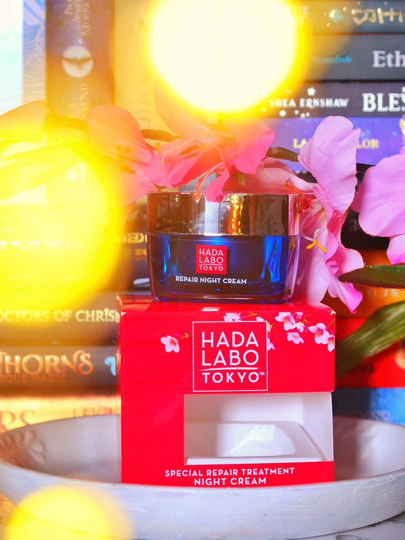 cosmetice hada labo tokyo romania ingrijire minimalista ten produse japoneze review recenzie crema noapte tratament reparator