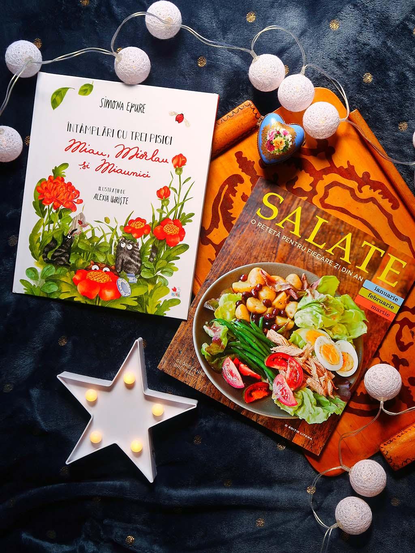 ultima comanda de pe libris - poezii cu pisici si inspiratie culinara pentru salate