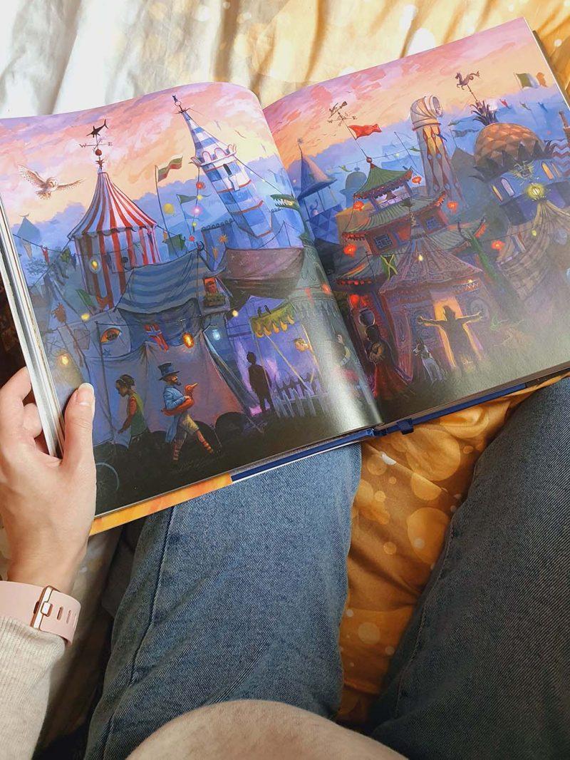 books express carte ilustrata harry potter goblet fire j k rowling illustrated edition