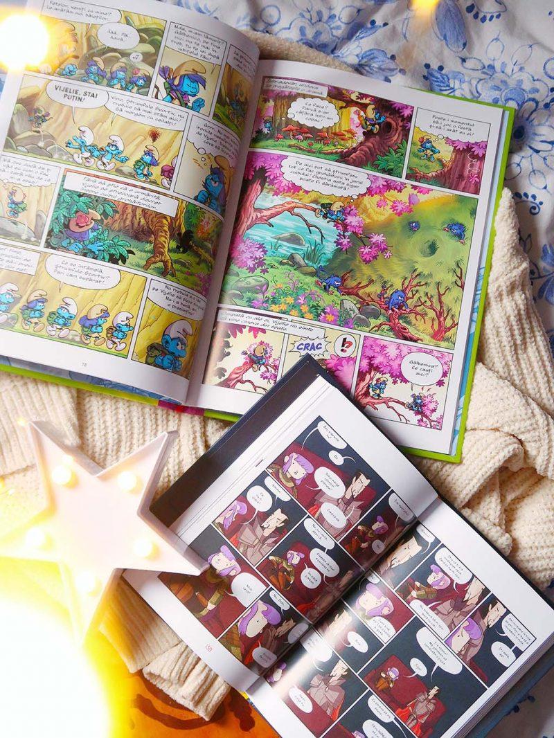 cartepedia carti pentru un februarie reusit manualul jurnalul femeii de succes andra olarean nimona roman grafic nina numarul de aur strumfii