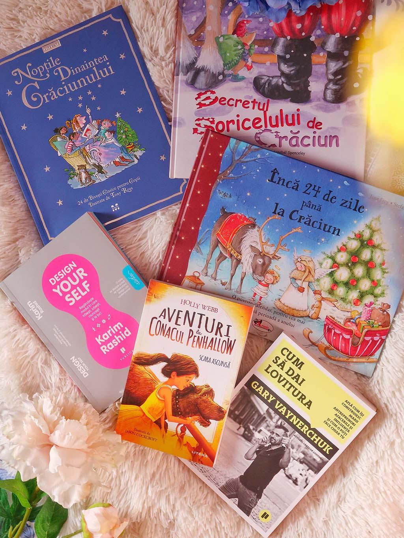 haul de iarna cu carti de pe cartepedia penhallow design yourself cum sa dai lovitura gary vaynerchuk noptile dinaintea craciunului secretul soricelului zile pana la craciun