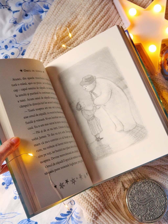 libris carti omul de zapada michael morpurgo frozen regatul de gheata povestea filmului