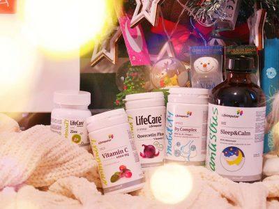 life care kit pastile imunitate vitamina c d zinc quercetina sirop somn melantonina
