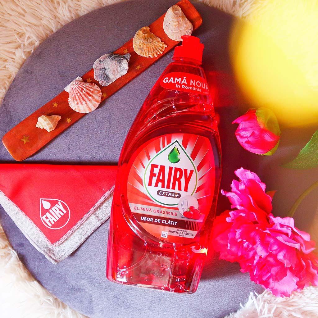 buzzstore noul fairy extra plus detergent vase citrice liliac fructe padure