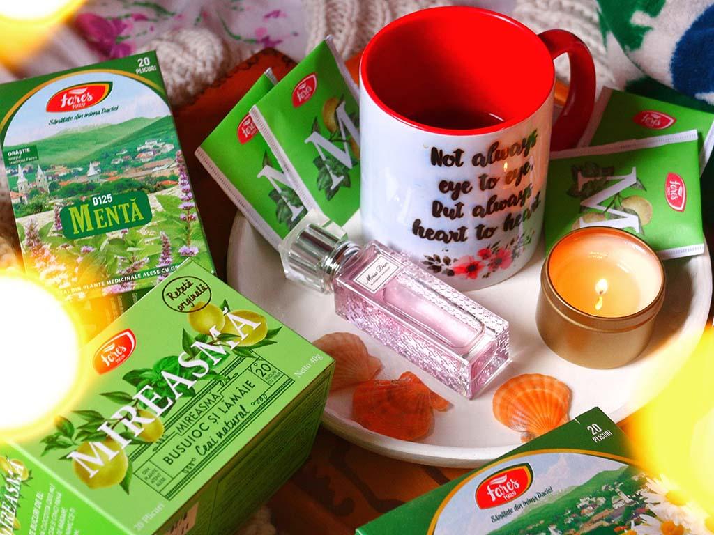 ceaiurile fares printre castigatoarele lumii ceai menta musetel mireasma tei cele mai bune ceaiuri