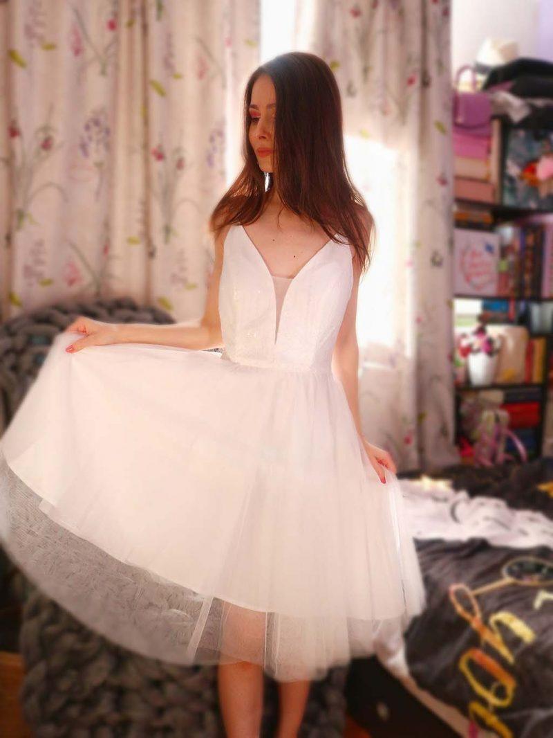 ever pretty comanda rochii dresses order elegant dress white cocktail dress rochie eleganta cocktail scurta alba