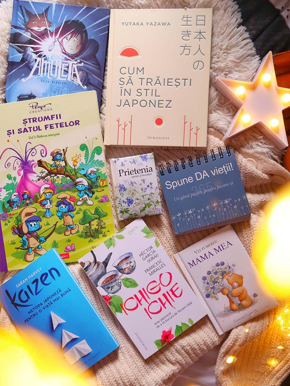 cartepedia carti faine idei cadouri kaizen ichigo ichie traiesti in stil japonez amuleta roman grafic strumfii helen exley mama prietenie citate