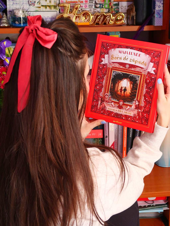 recenzie carte sora de zapada maja lunde cartepedia editura arthur