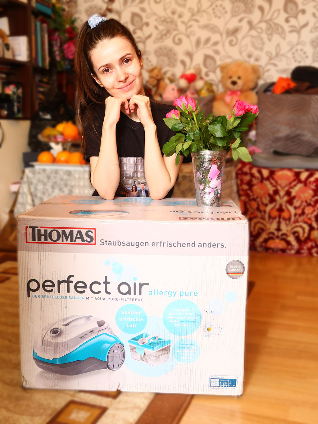 aspirator thomas perfect air allergy pure curatenie filtrare apa recenzie