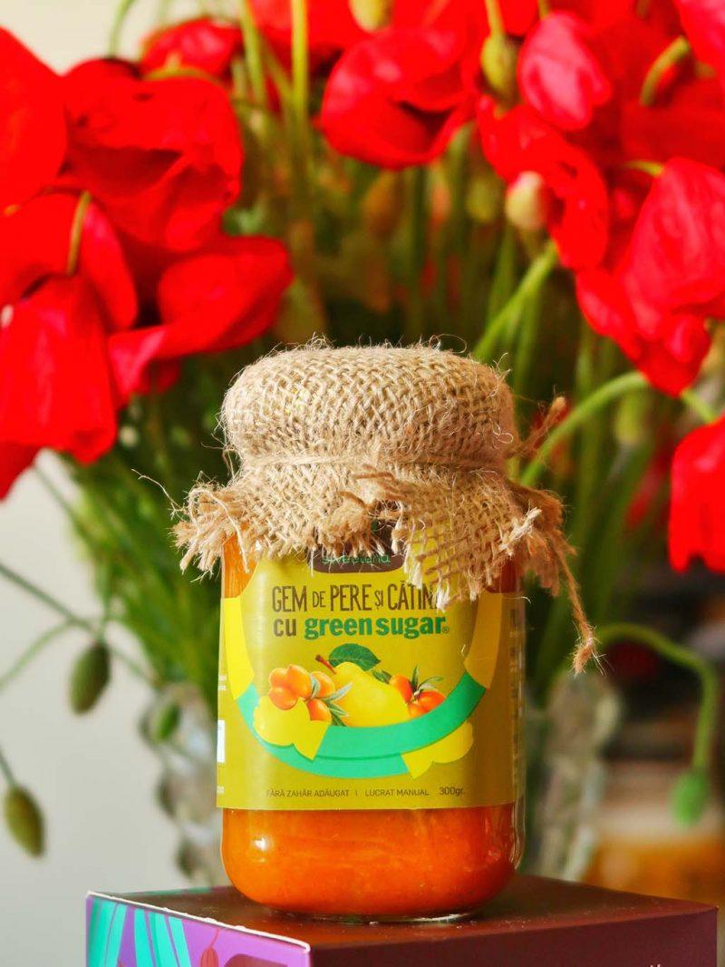 sweeteria ziua copilului iunie cadouri oua ciocolata dulciuri sanatoase fara zahar briose dulcisor indulcitor cocos stevie gem pere catina