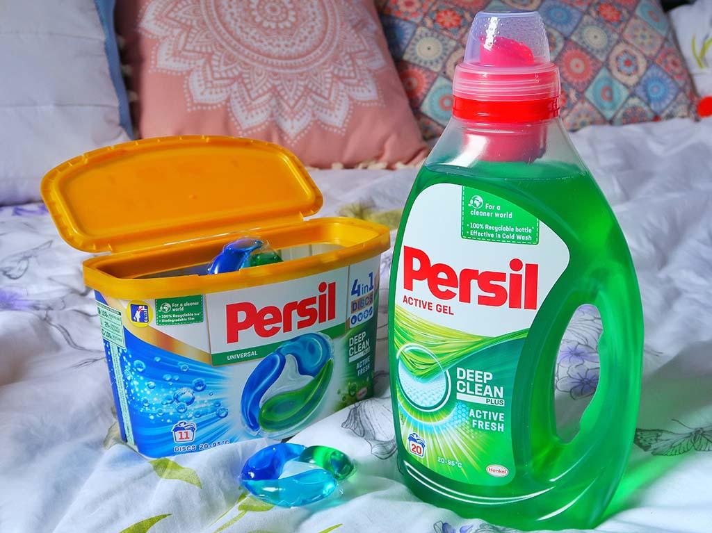 buzzstore recenzie detergent persil deep clean capsule active gel