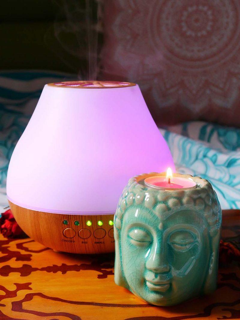 comanda vreauceva produse lucrate manual de mestesugari din toata lumea spiritualitate difuzor arome lumanari ulei esential mandarine may chang buddha