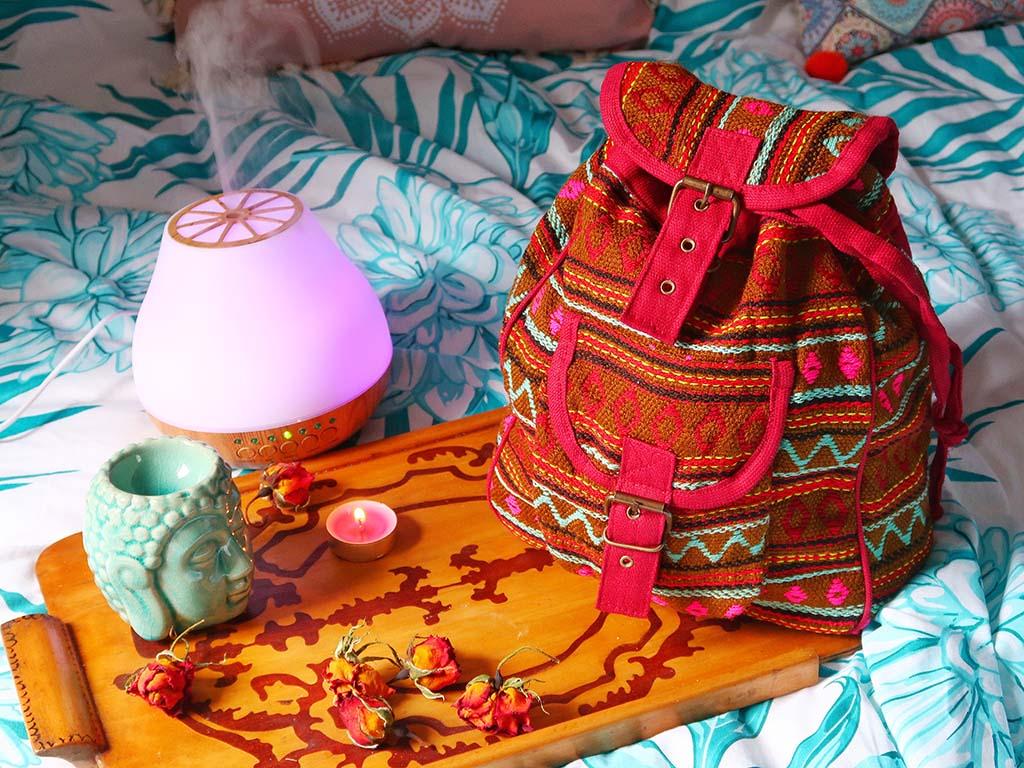 comanda vreauceva produse lucrate manual de mestesugari din toata lumea spiritualitate difuzor arome lumanari ulei esential mandarine may chang buddha rucsac nepal