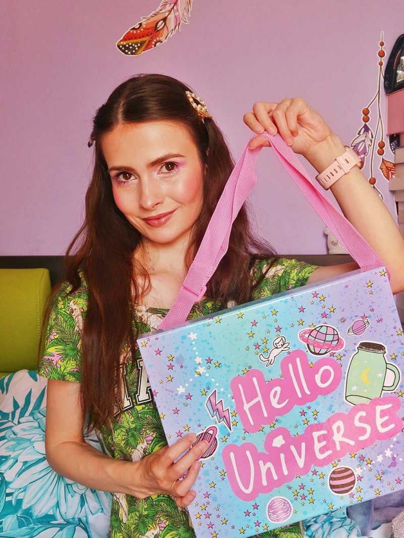 unboxing bookidz create it trusa machiaj farduri cadou fetite adolescenteoje party petrecere pijama