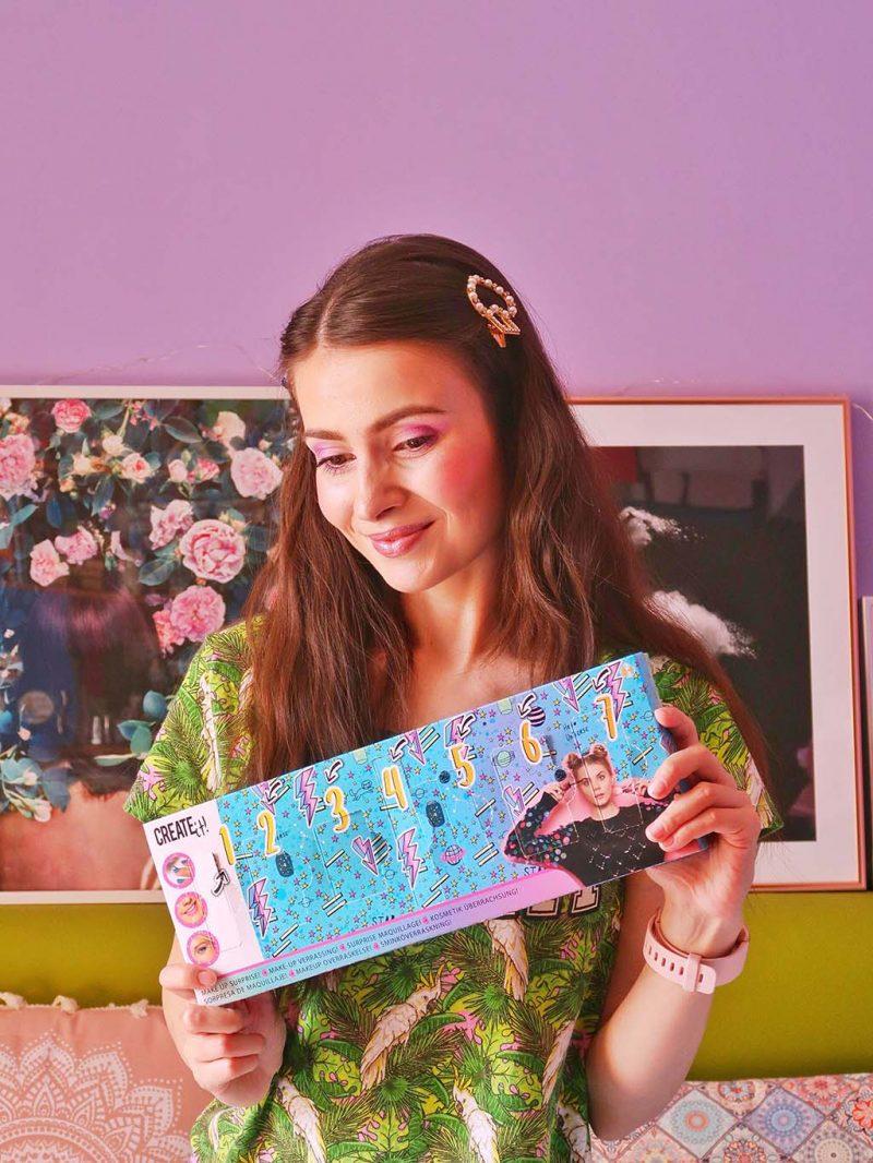 unboxing bookidz create it trusa machiaj farduri cadou fetite adolescenteoje party petrecere pijama calendar advent zile surpriza