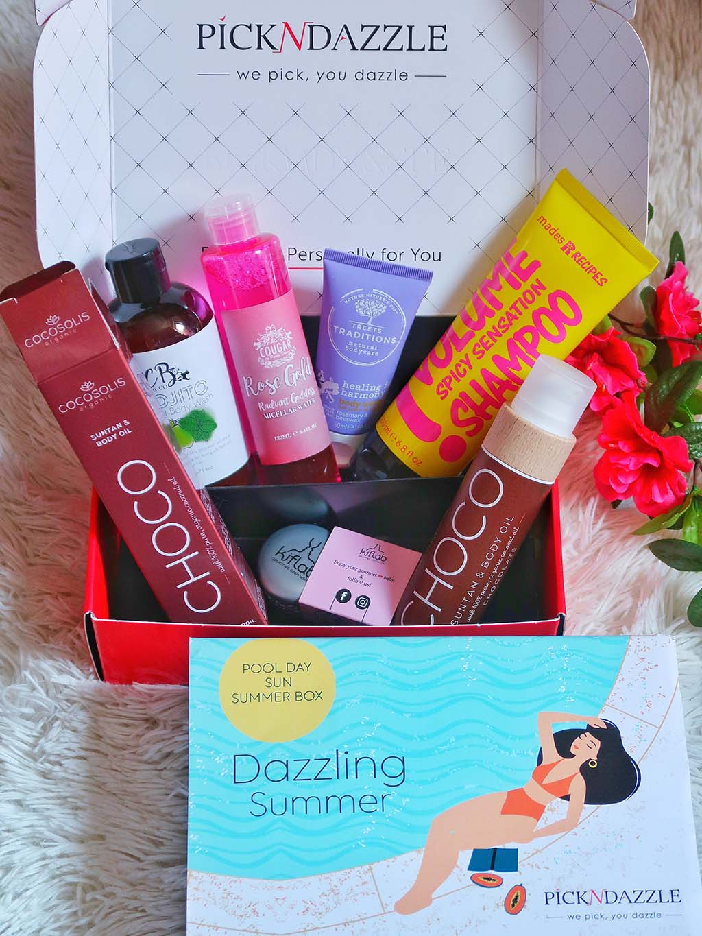 unboxing pick n dazzling summer beauty boxes cutii cutie frumusete pool day beac vacantion double box mades recipes cougar cocosolis choco treets traditions kiflab