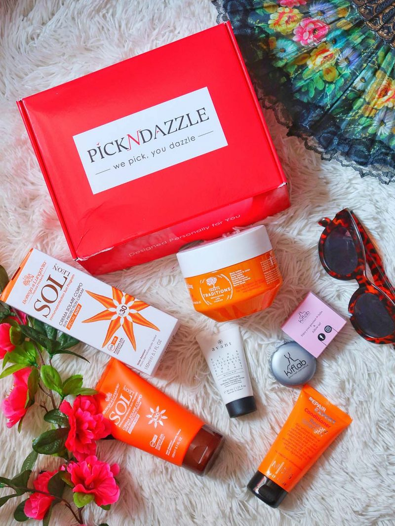 unboxing pick n dazzling summer beauty boxes cutii cutie frumusete pool day beac vacantion double box treets tradition crema corp avant pink orchid kiflab sol leon