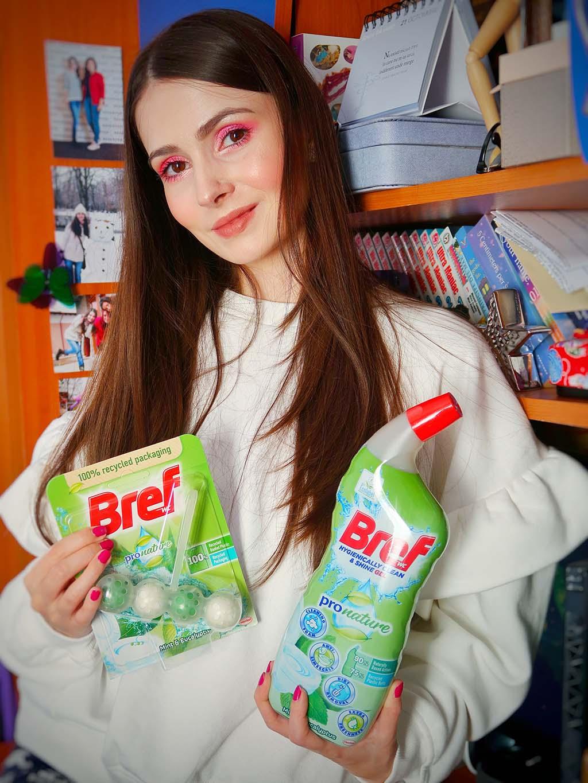 buzzstore pronature bref wc gel clin spray geamuri pur detergent vase sustenabil reciclabil reciclat ingrediente naturale