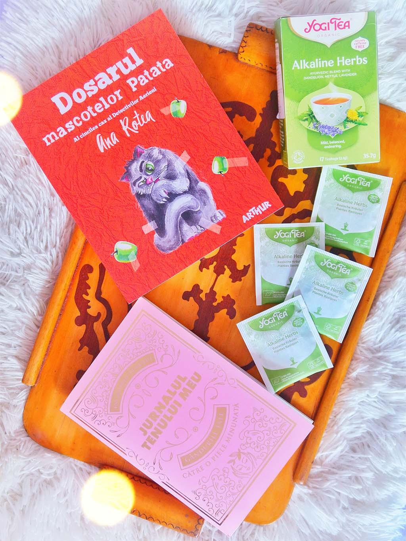 libris carti seria detectivii aerieni dosarul mascotelor patata ana rotea jurnalul tenului meu ceai yogi tea alkaline herbs